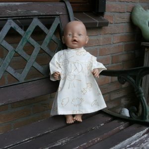 Marconellie baby born nachthemd
